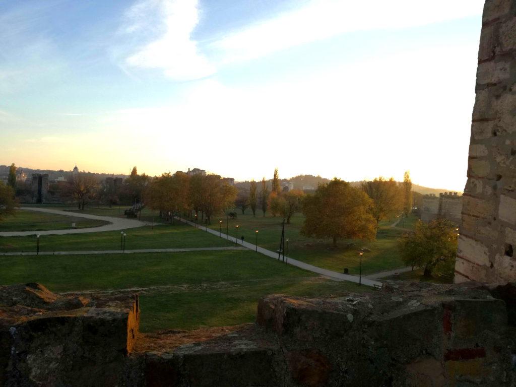 Pogled sa Smederevske tvrđave