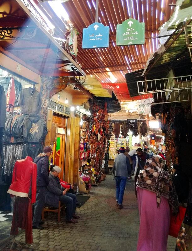 Sukovi (bazari) u Marakešu