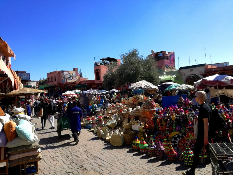 Tržnica u Marakešu, Maroko
