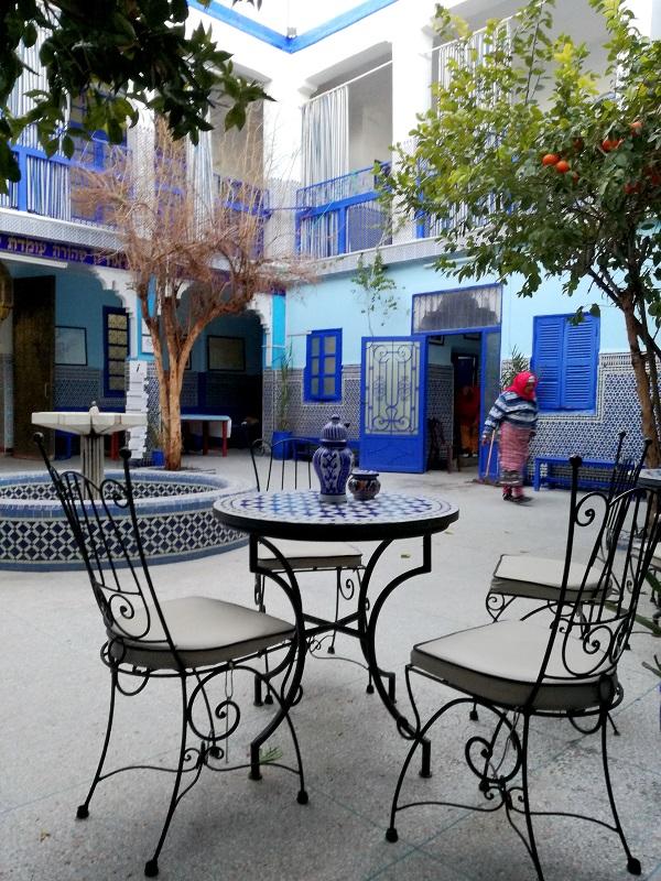 Sinagoga, Mellah, Marakeš