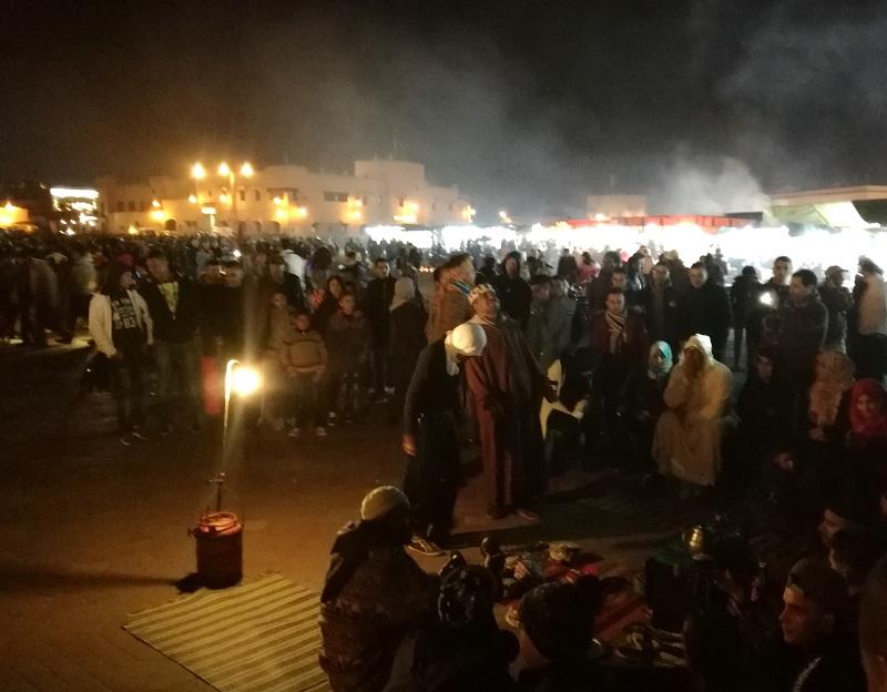 Ples na trgu Džema el-Fna, Marakeš