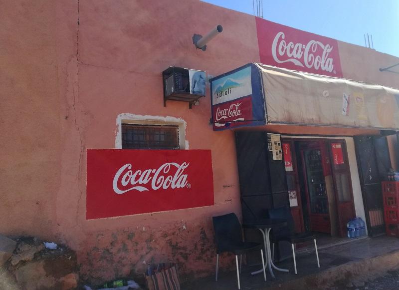 Koka - Kola u selu Ait-Beh-Haddou