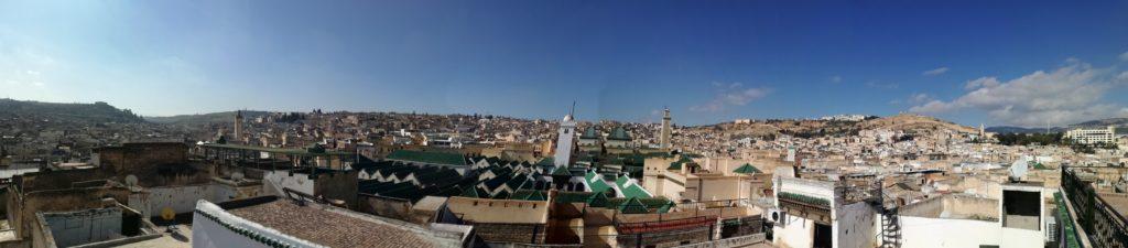 Fes panorama, Maroko
