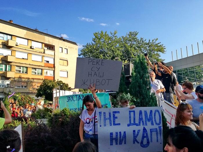Stara planina Pirot protest