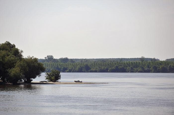 Pogled na Dunav s broda